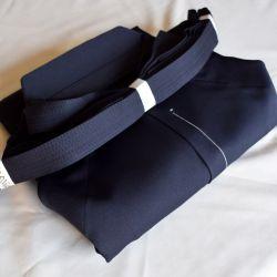 Hakama Iwata Aikido epais
