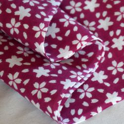 tenugui sakura rose kendo japonais