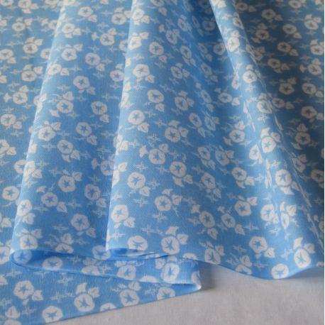 tissu japonais kendo tenugui volubilis