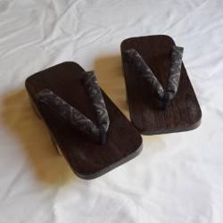 Geta sandal bois grand pointure