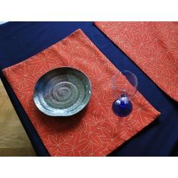 Set de table-Momiji tissu japonais