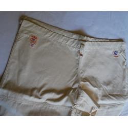 Keikogi Iwata pantalon2P-écru