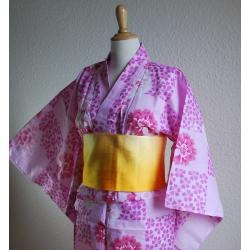 Yukata-Sakura Botan