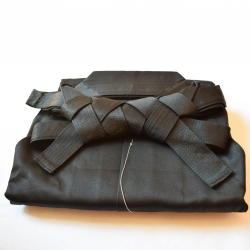 Hakama Iwata coton noir