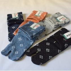 Tabi socks-Hana