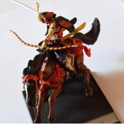 Miniature samurai japonais MINAMOTO no Yoshitsuné