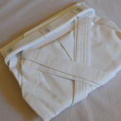Hakama-Kendo-Coton blanc 79A