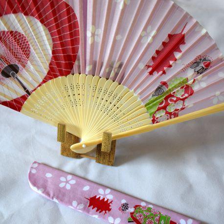 Eventail Japonais MAIKO