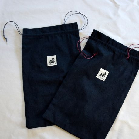 Housse zori-kimono Bleu foncé