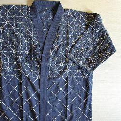 Keikogi-Kendo-Musashizashi-Bleu foncé