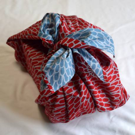 FUROSHIKI KIKU red x green