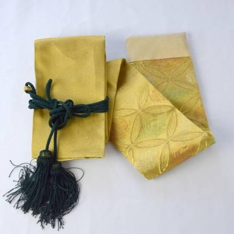KATANA BAG Shippo Gold + GREEN