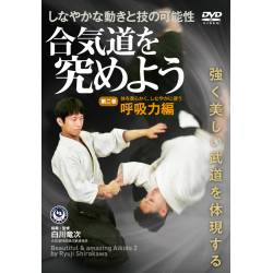 DVD Poursuivons l'Aikido N°2 SIRAKAWA Ryuji