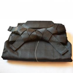 Hakama Iwata cotton black