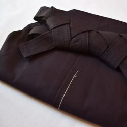 Hakama Iwata coton-indigo