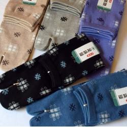 Tabi socks-Kasuri