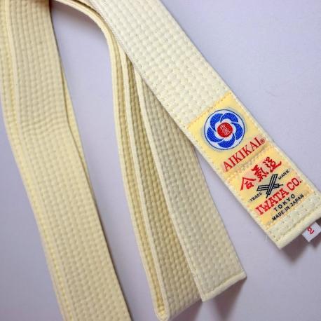 Belt Aikido Iwata-off white