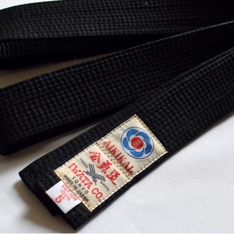 Belt noir-Iwata