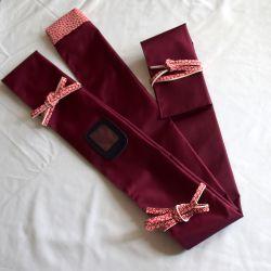 Housse Naginata-Sakura Noir
